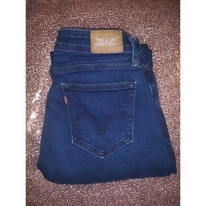 Levis 529 curvy bootcut jeans / size 10